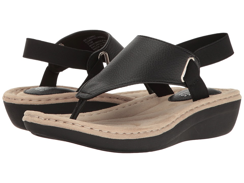 White Mountain - Carmel (Black) Women's Shoes