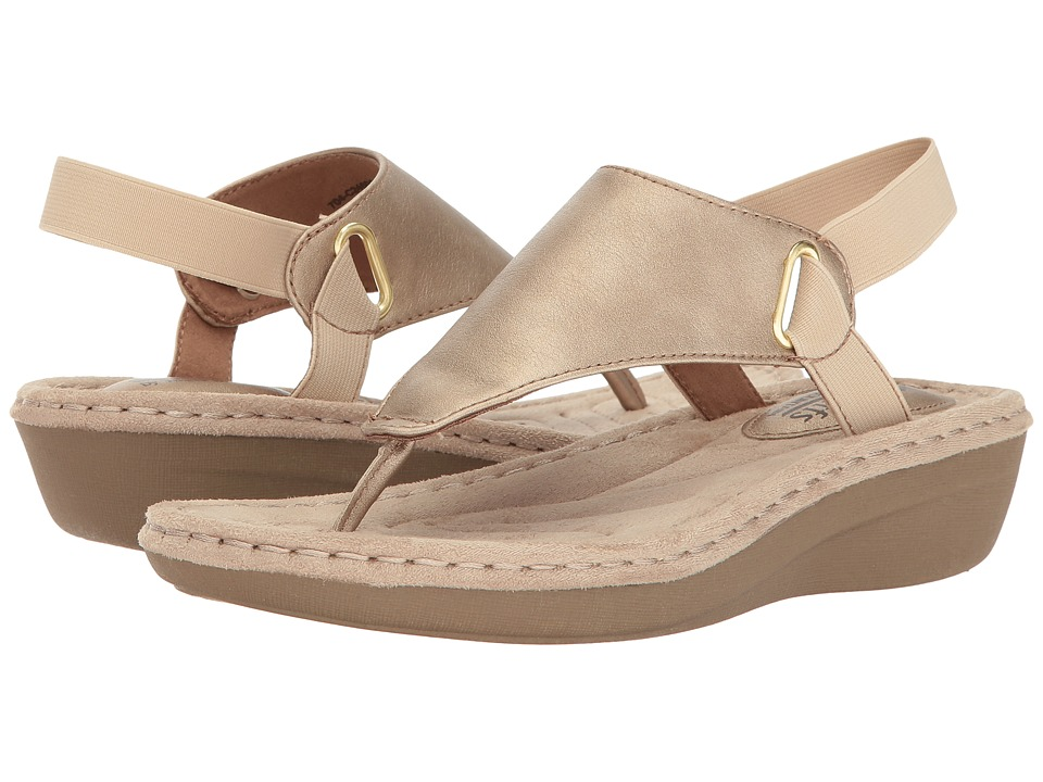 White Mountain - Carmel (Gold) Women's Shoes
