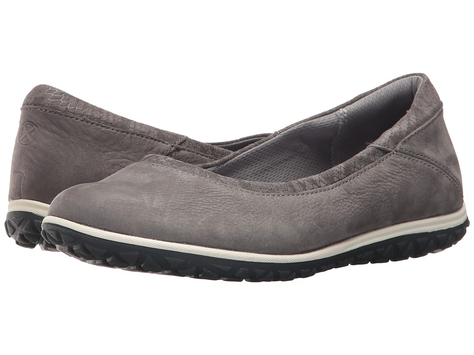 Hush Puppies Berkleigh Audra (Charcoal Nubuck) Women