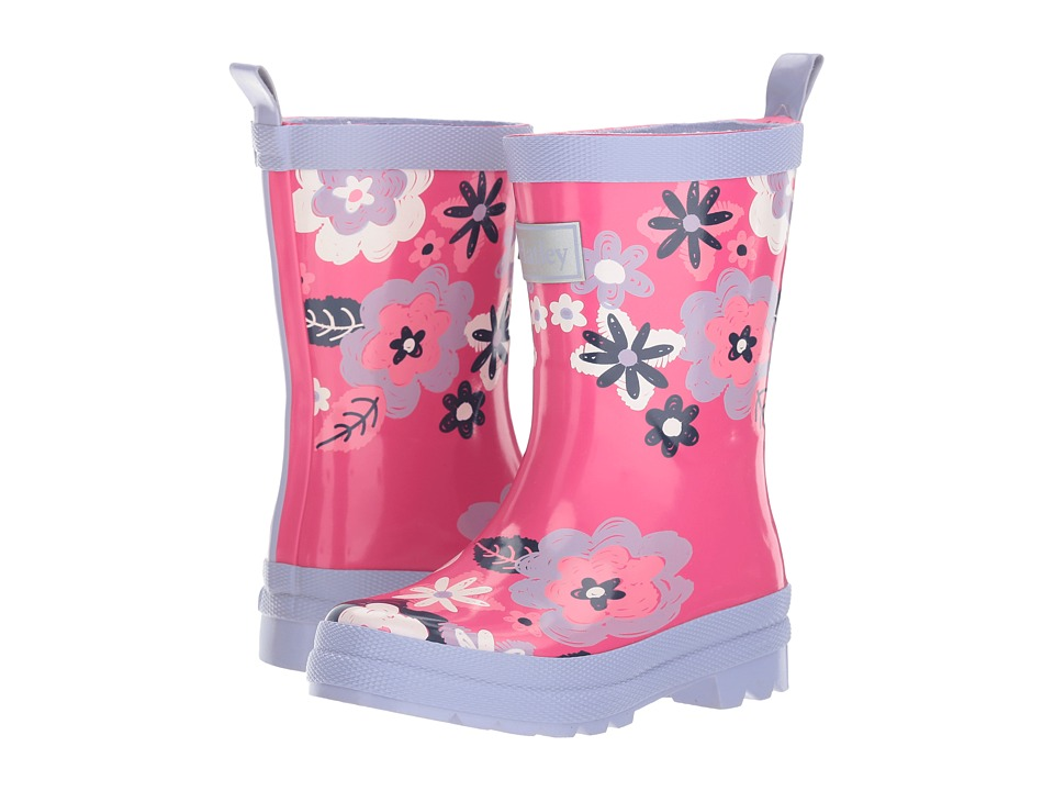 Hatley Kids Sketchy Flowers Rain Boots (Toddler/Little Kid) (Pink) Girls Shoes