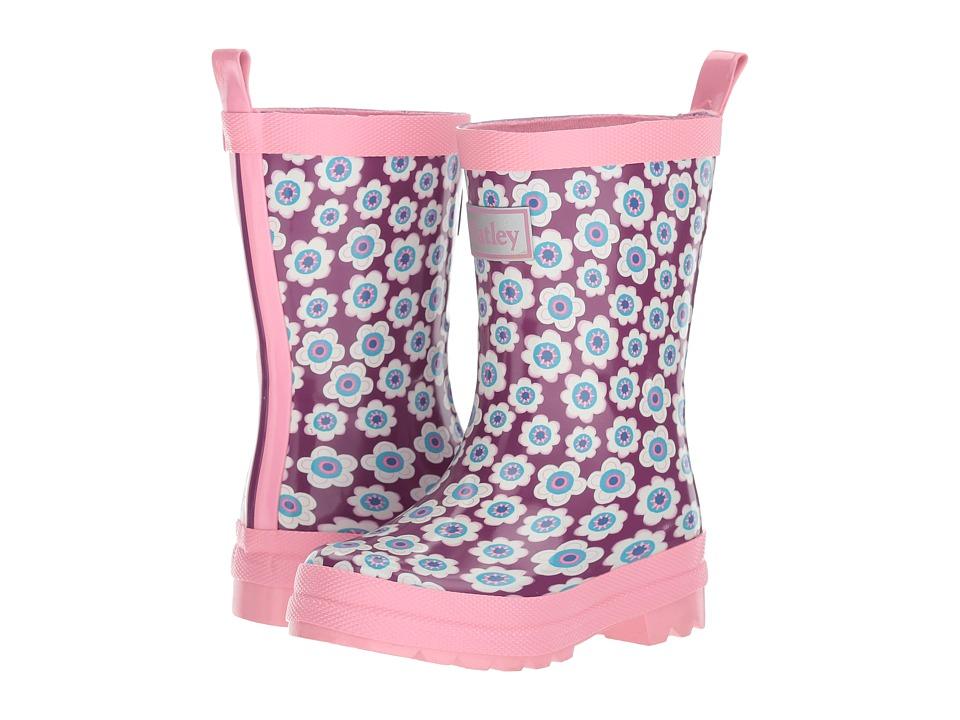 Hatley Kids Butterflies and Buds Rain Boots (Toddler/Little Kid) (Pink) Girls Shoes