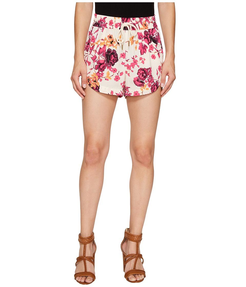 kensie - Japanese Garden Shorts KS7K1344 (Rosy Nude Combo) Women's Shorts