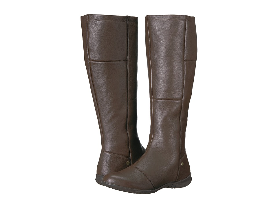 Hush Puppies Lilli Bria (Dark Brown Waterproof Leather) Women