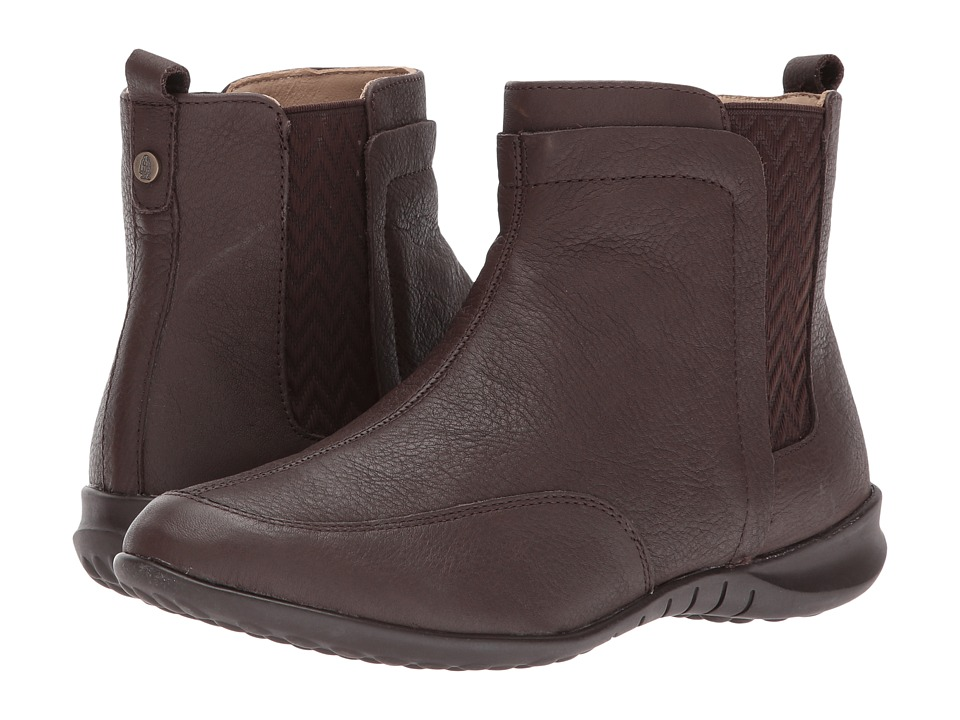 Hush Puppies Lindsi Bria (Dark Brown Waterproof Leather) Women