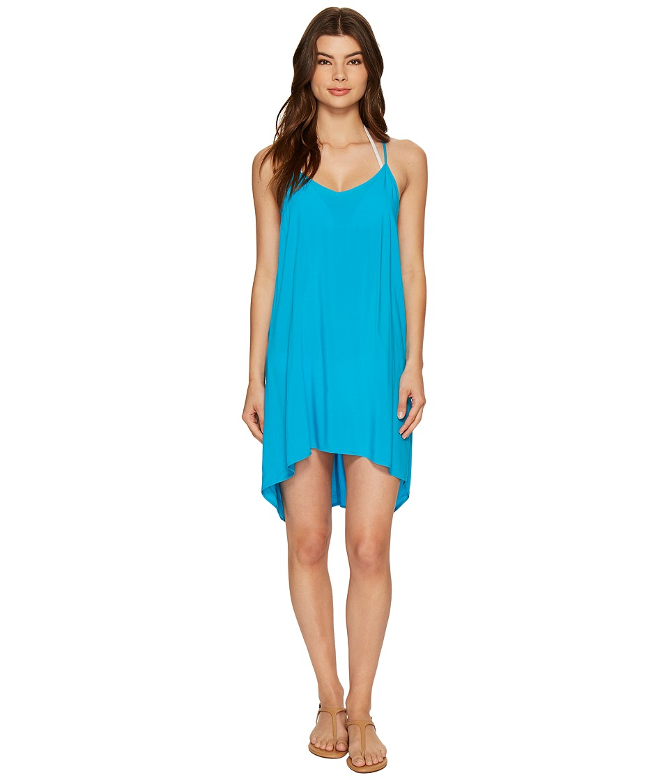 L*Space - Eclipse Tunic Cover-Up (Electric Blue) Women's Swimwear