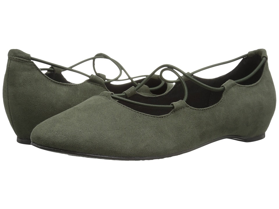 Soft Style Colleen (Olive Night Faux Suede) Women