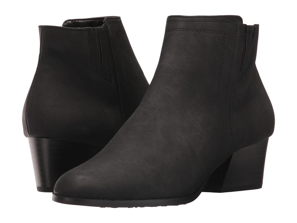 Soft Style Gleda (Black Nubuck) Women