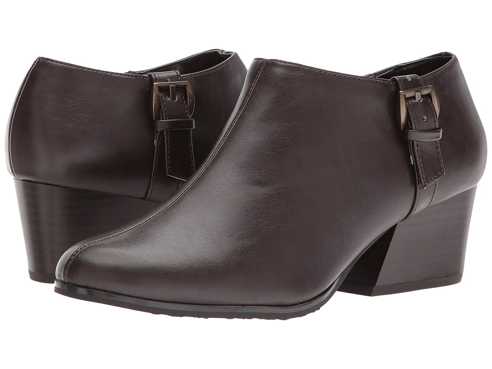 Soft Style Glynis II (Dark Brown Vitello) High Heels