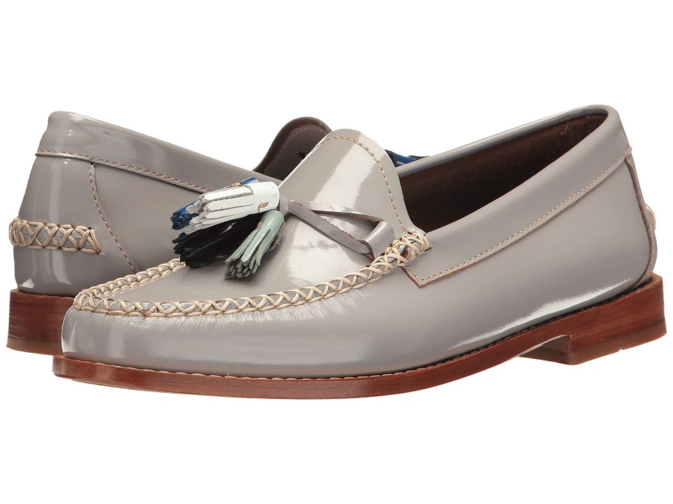 G.H. Bass & Co. - Willow Weejuns (Grey Patent Leather) Women's Shoes