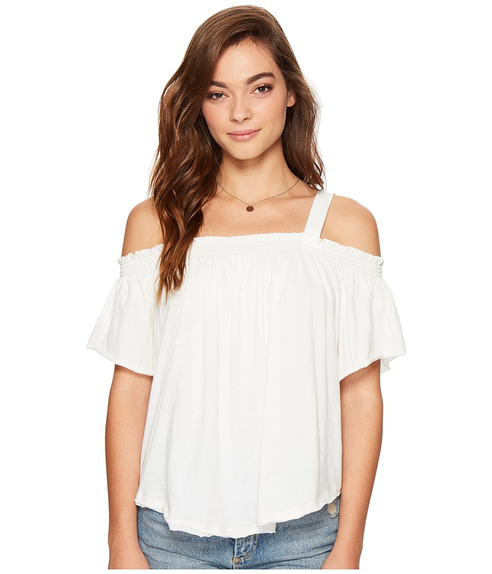 Free People - Darling Top (White) Women's Clothing