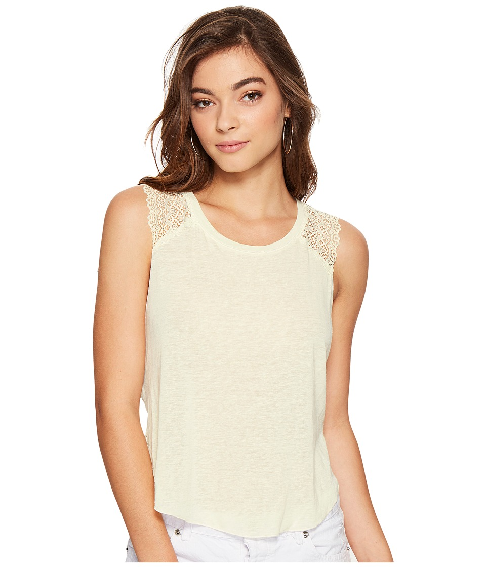 Free People - Peony Tank Top (Yellow) Women's Sleeveless