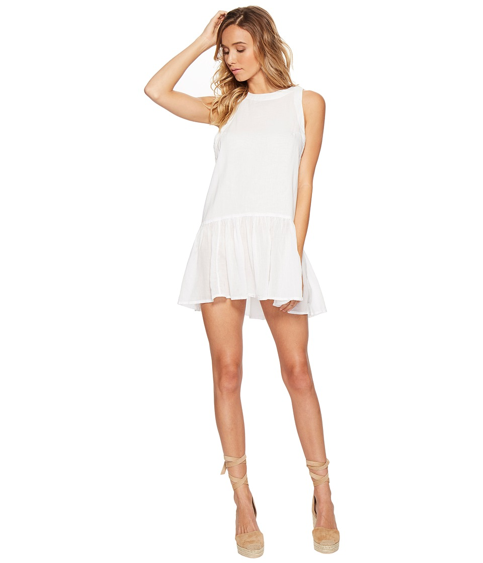 Free People - Breathless Moments Batiste Tunic (White) Women's Clothing