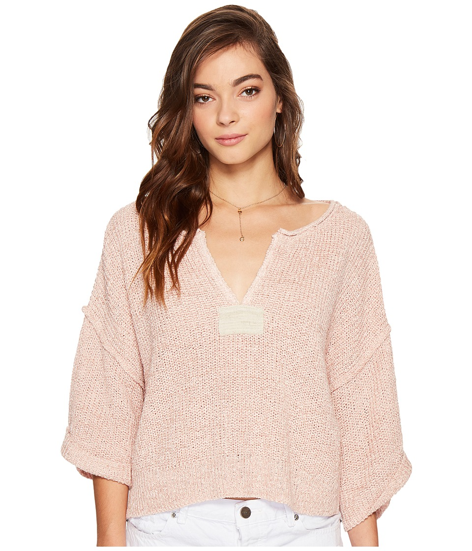 Free People - Daybreak Sweater (Rose) Women's Sweater