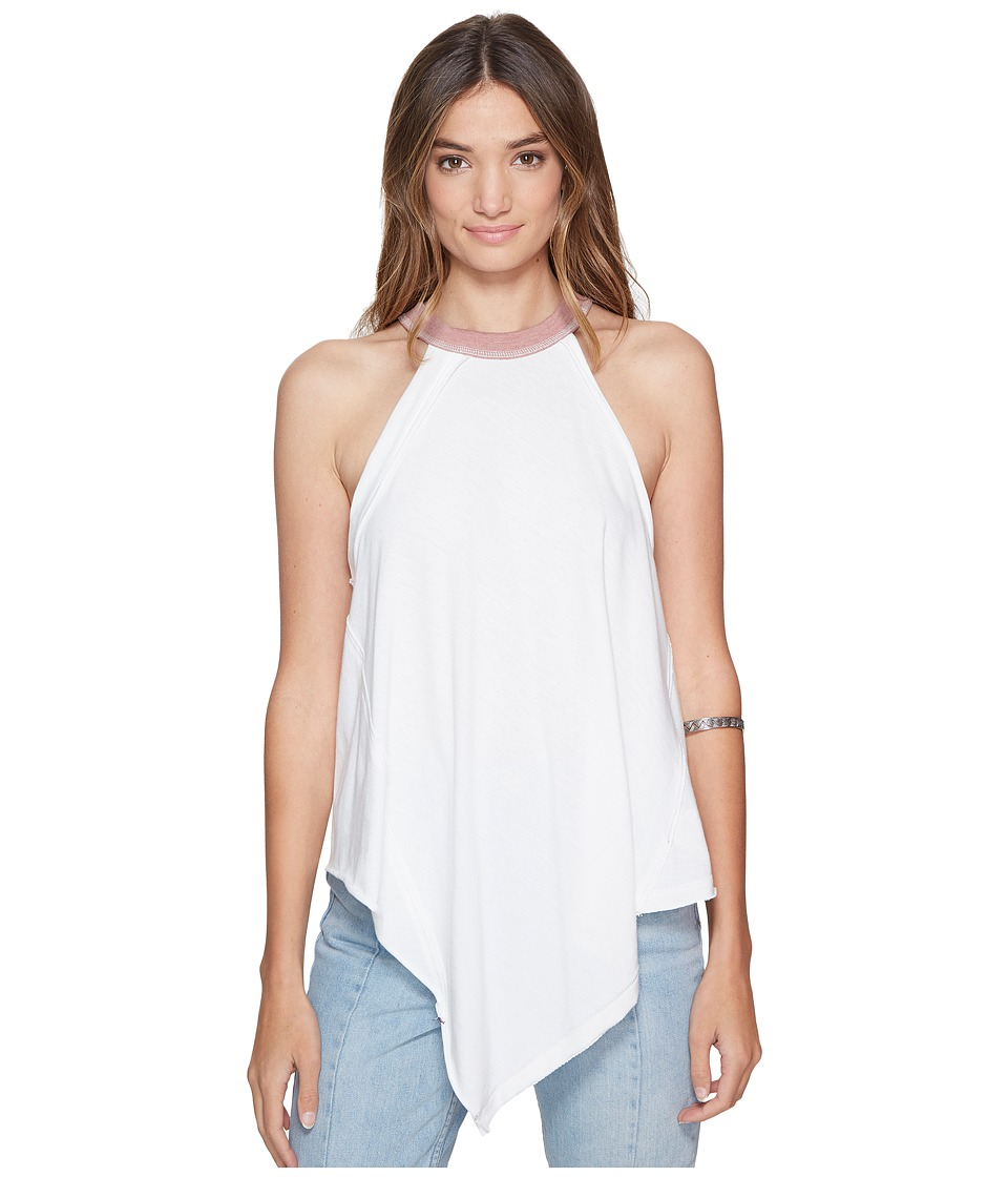 Free People - Twin Peaks Tank Top (Ivory) Women's Sleeveless
