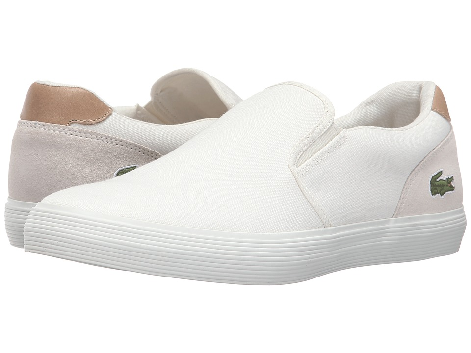 Lacoste - Jouer Slip-On 316 1 (Off-White) Men's Shoes