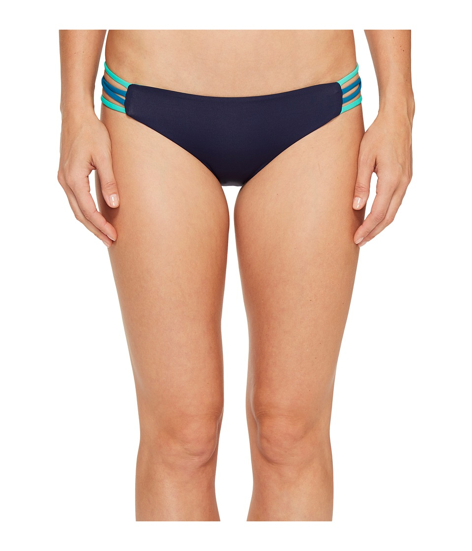 L*Space Color Block Low Down Bottoms (Midnight Blue) Women