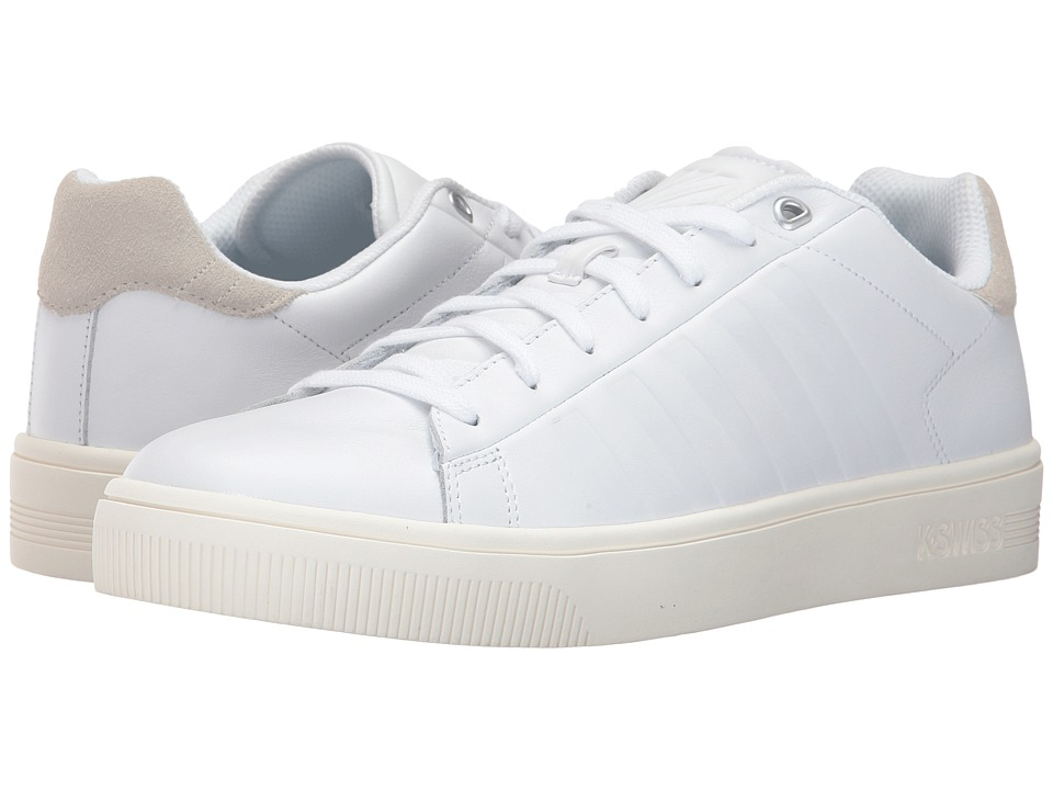K-Swiss - Court Frasco (White/Bone/Marshmallow) Men's Tennis Shoes