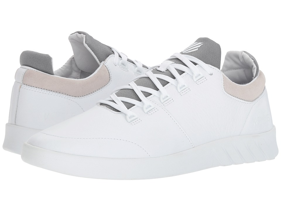 K-Swiss Aero Trainer (White) Men's Tennis Shoes