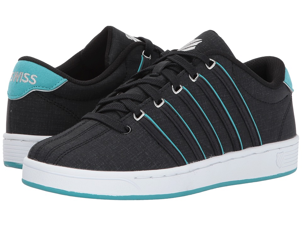K-Swiss - Court Pro II SP CM (Black/Baltic/White) Women's Tennis Shoes