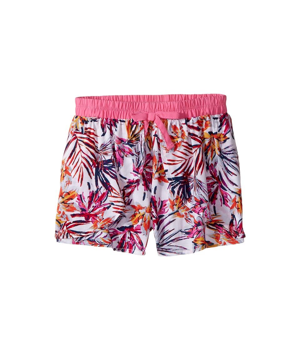 Splendid Littles - All Over Print Voile Shorts (Big Kids) (Hot Pink) Girl's Shorts