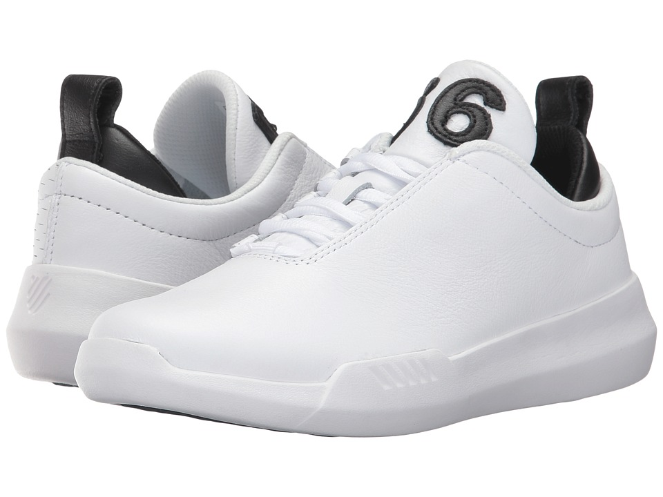 K-Swiss - Gen-K Icon (White/Black) Women's Tennis Shoes