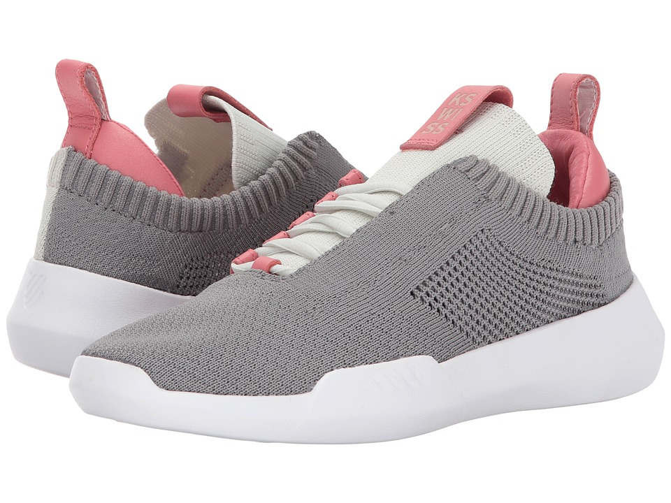 K-Swiss - Gen-K Icon Knit (Cloud Burst/Desert Rose) Women's Tennis Shoes