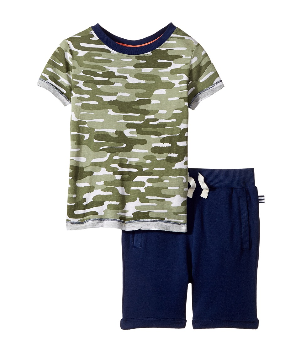 Splendid Littles - Cactus Camo Tee Set (Toddler) (Camo) Boy's Active Sets