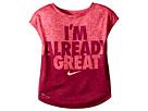 Nike Kids - Heather Already Great Short Sleeve Tee (Toddler)