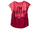 Nike Kids - Heather Already Great Short Sleeve Tee (Little Kids)