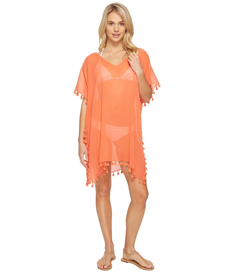 Seafolly - Future Tribe Amnesia Kaftan Cover-Up (Sienna) Women's Swimwear