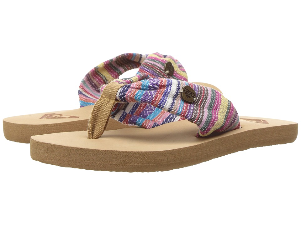 Roxy Kids - Sand Dune Sandals (Little Kid/Big Kid) (Multi) Girl's Shoes