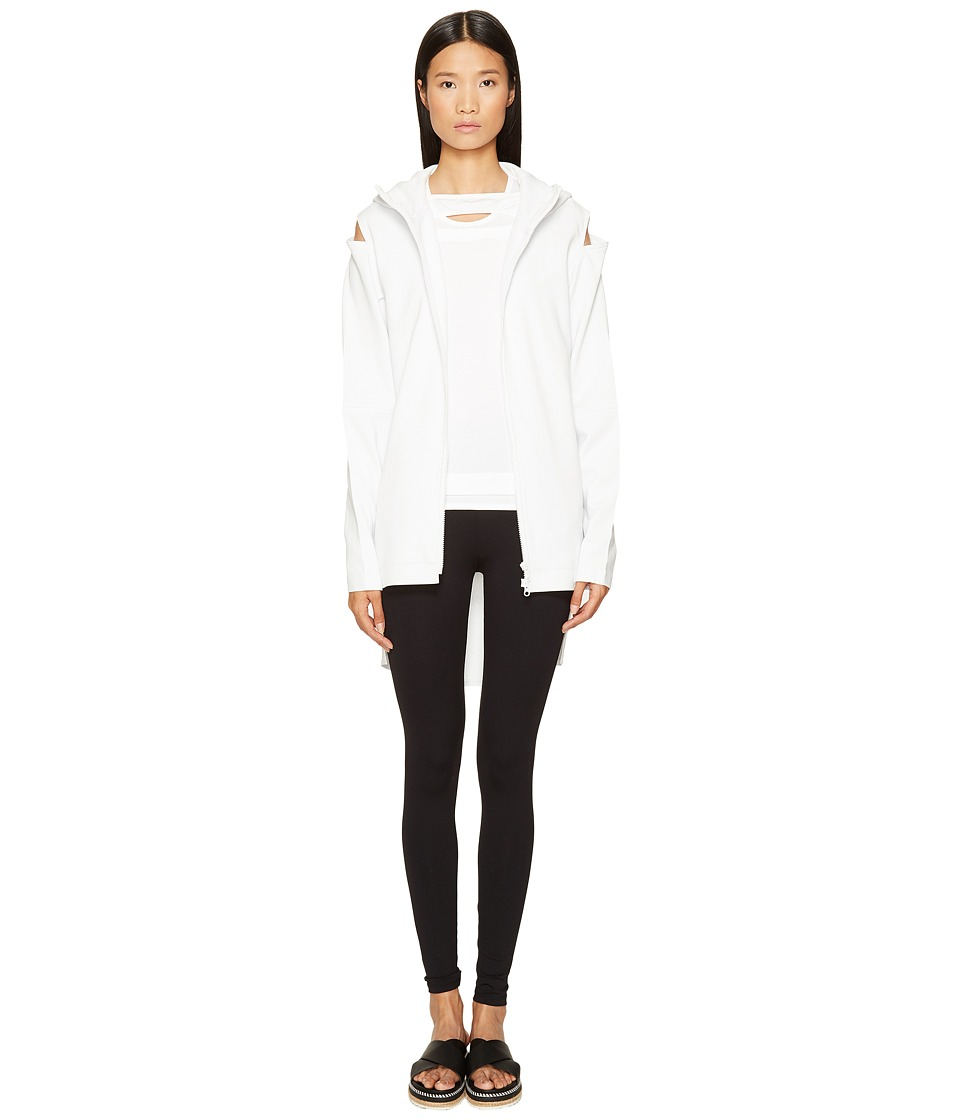 adidas Y-3 by Yohji Yamamoto - Cocoon Jacket (Crystal White) Women's Coat
