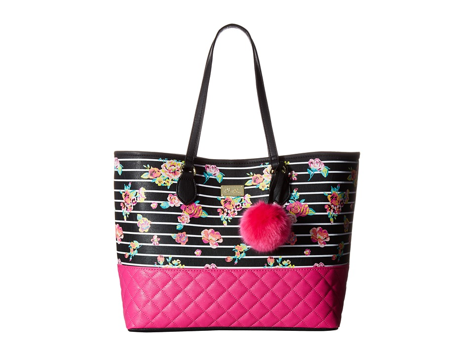 Luv Betsey - Sarah Tote (Floral) Tote Handbags