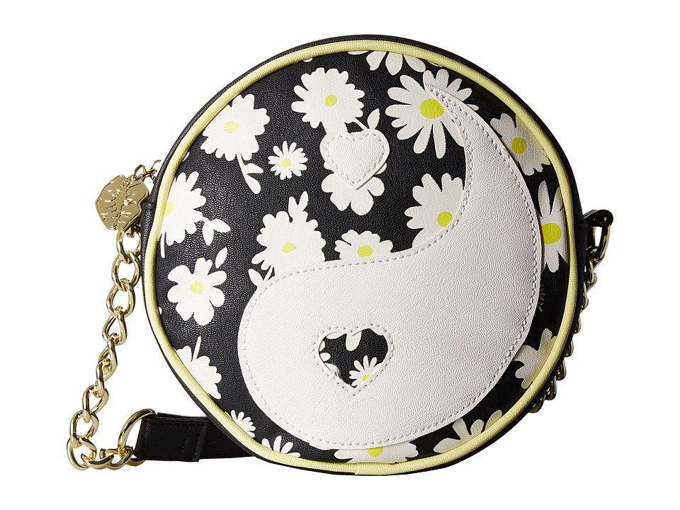 Luv Betsey - Ying Crossbody (Black/White) Cross Body Handbags