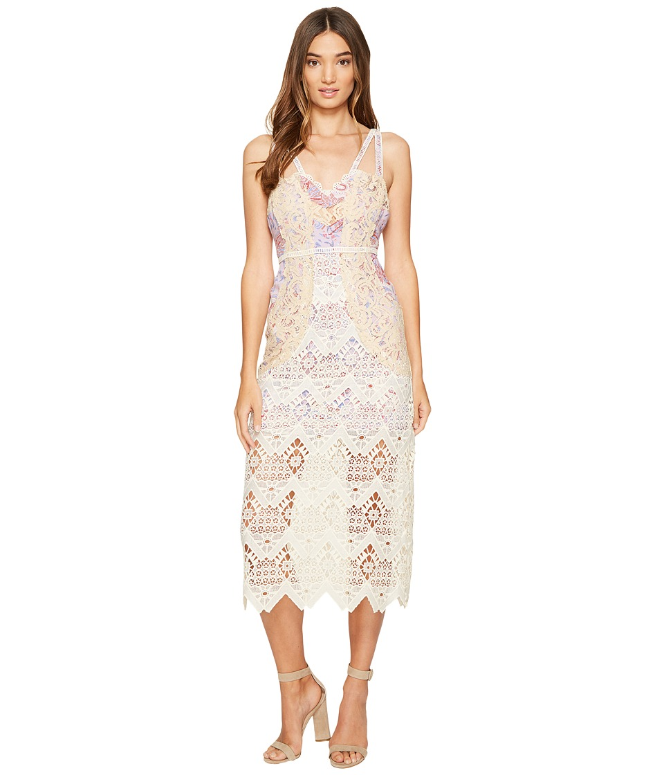 Free People - Still Life Midi Dress (Ivory) Women's Dress