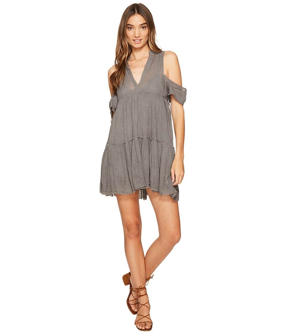 Free People - Gauze Indus Dress (Carbon) Women's Dress