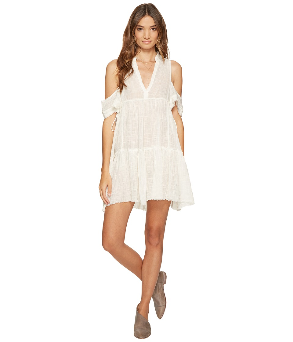Free People - Gauze Indus Dress (Cream) Women's Dress
