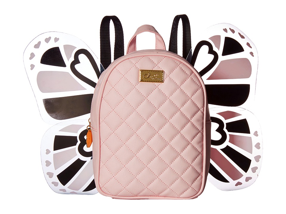 Luv Betsey - Fly Kitch PVC Backpack (Blush) Backpack Bags