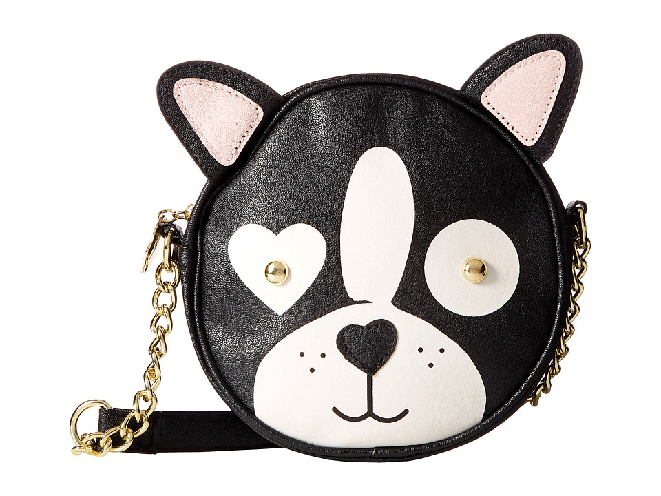 Luv Betsey - Rocket Kitch Canteen (Black) Cross Body Handbags
