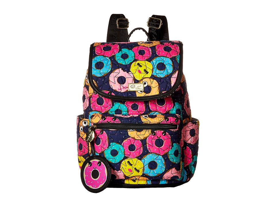 Luv Betsey - Grad Cotton Quilted Backpack (Multi) Backpack Bags