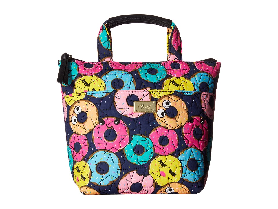 Luv Betsey - Grub Cotton Insulated Lunch Cooler (Multi) Tote Handbags