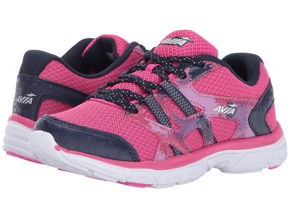 Avia Kids - Avi-Ariel (Toddler/Little Kid/Big Kid) (Pink Energy/Grotto Navy/Mauve/Verry Berry) Girl's Shoes