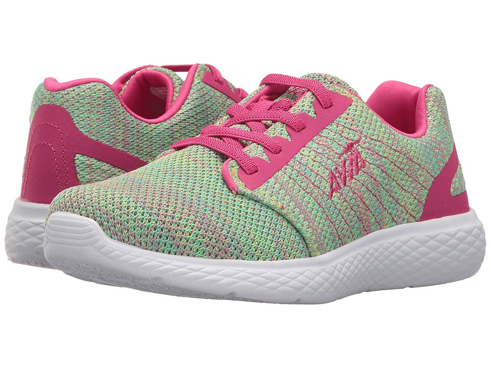 Avia Kids - Avi-Kismet (Toddler/Little Kid/Big Kid) (Highlighter Lime/Aruba Aqua/Pink Engery) Girl's Shoes