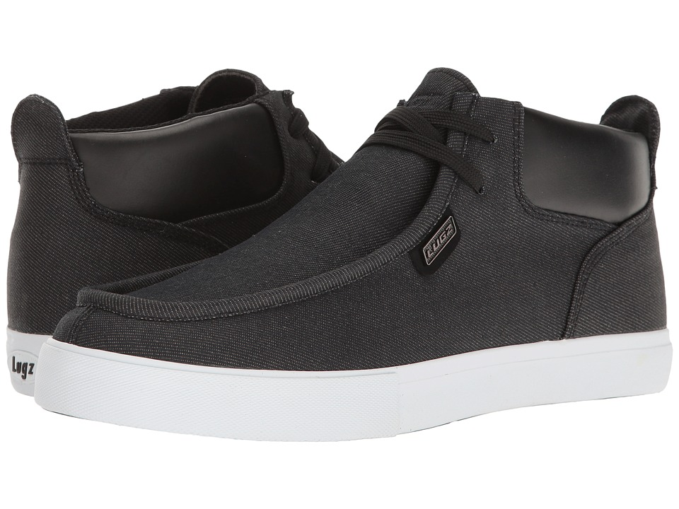 Lugz Strider Denim SS (Black/White) Men