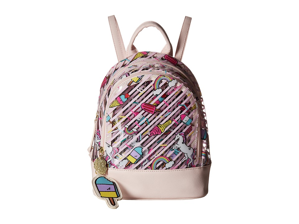 Luv Betsey - Jellyy Clear Petite Backpack (Animal) Backpack Bags
