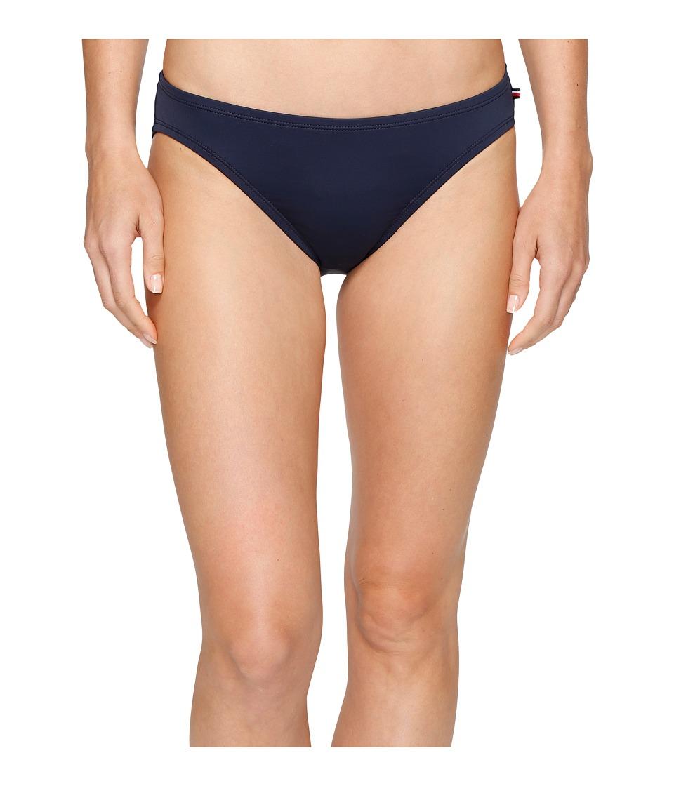 Tommy Hilfiger - New England Classic Bikini Bottom (Core Navy) Women's Swimwear