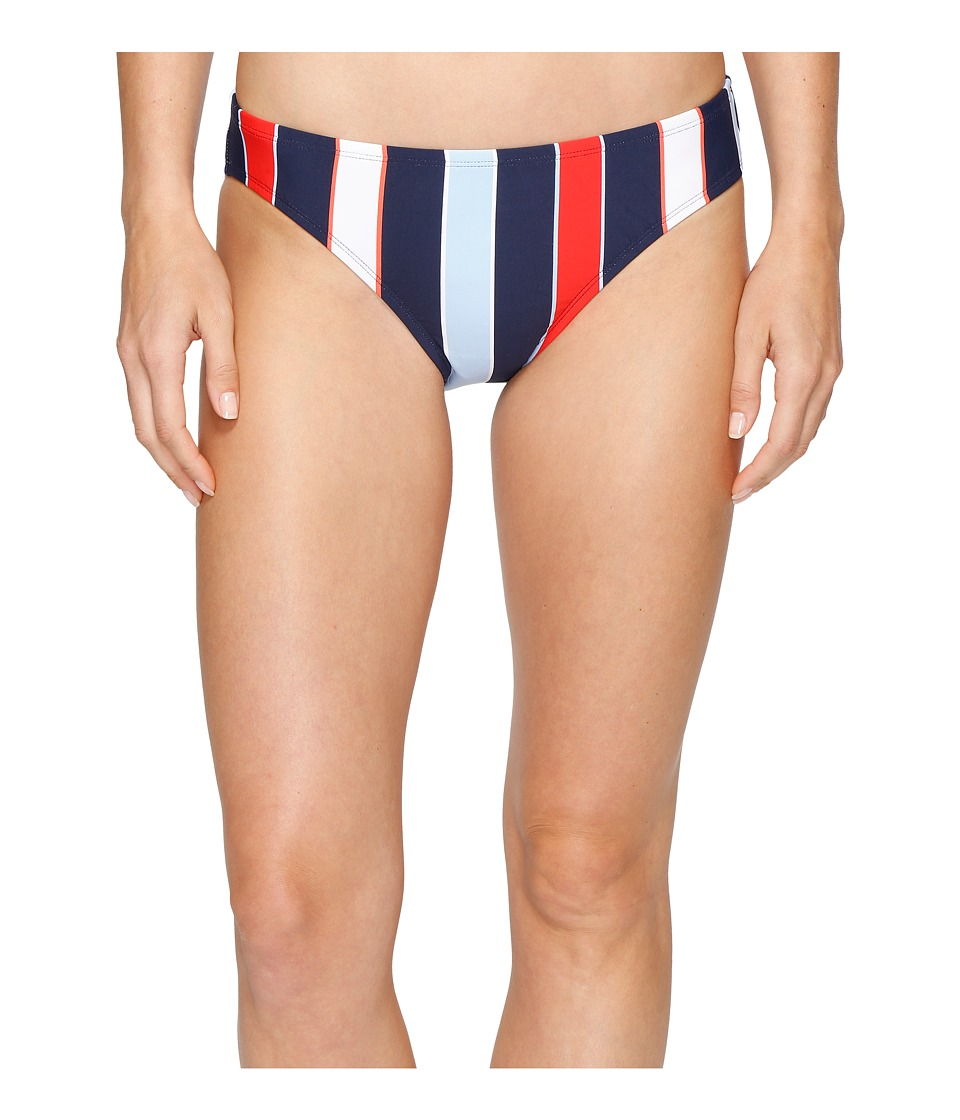 Tommy Hilfiger - Speedy Stripe Classic Bikini Bottom (Core Navy) Women's Swimwear