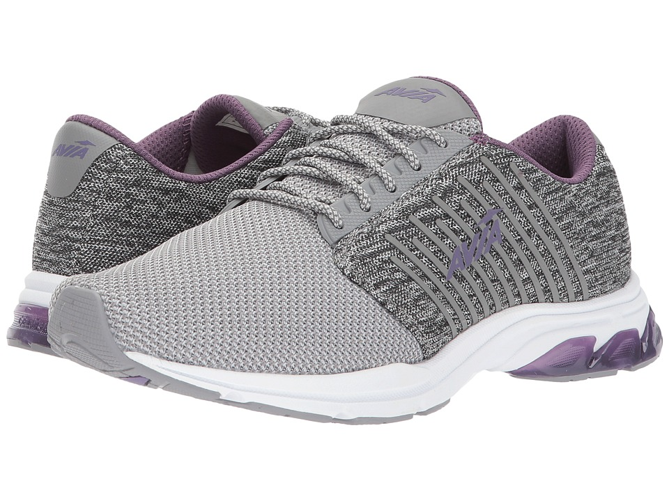 Avia Avi-Zeal (Frost Grey/Cool Mist Grey/Twilight Purple) Women