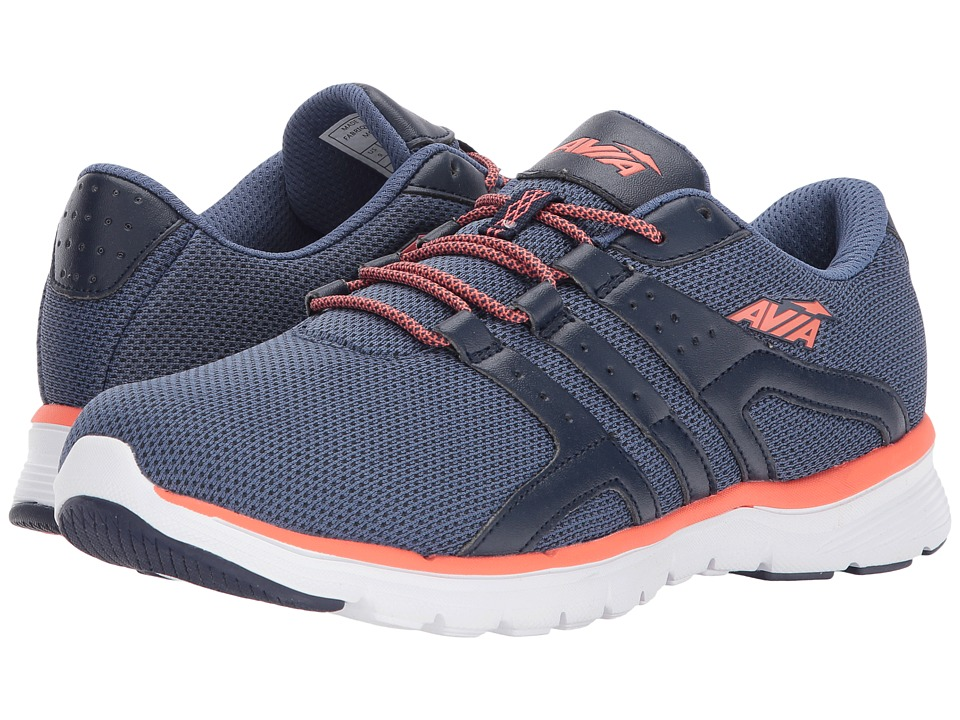 Avia Avi-Mania (Grotto Navy/Lapis Blue/Intense Coral) Women