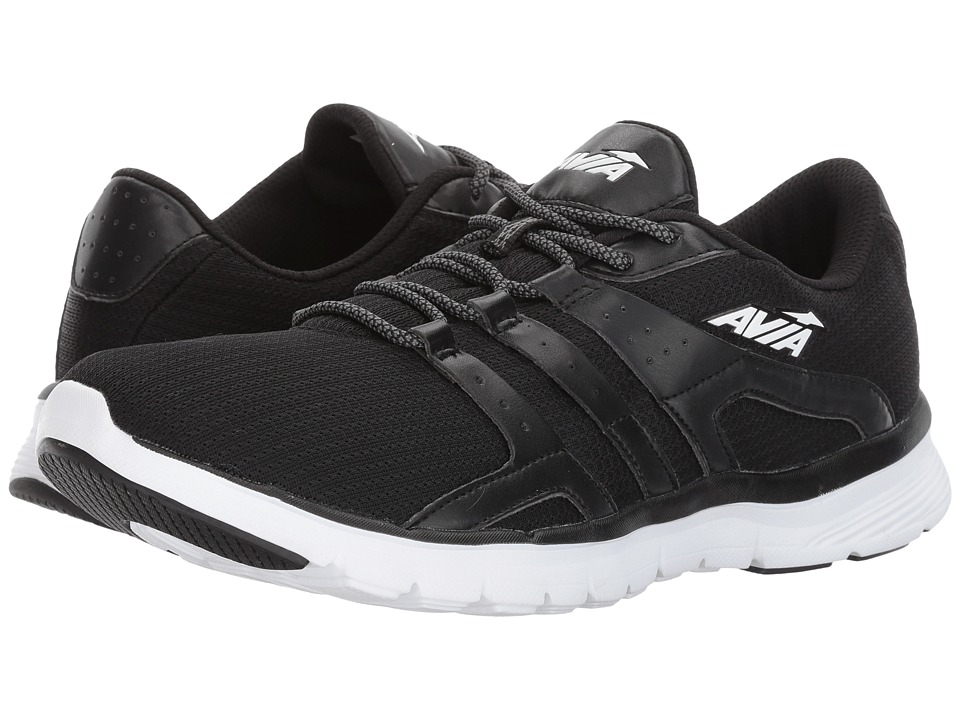 Avia - Avi-Mania (Black/White) Men's Shoes